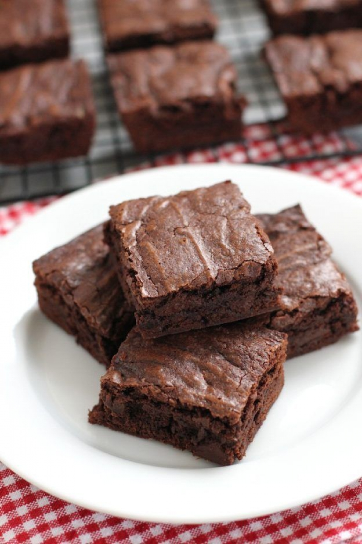 Brownie de kanten